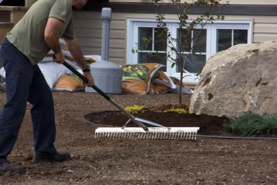 Le sol doit être soigneusement étendu